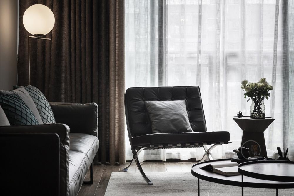 康城简约风跃层三居客厅装修设计美图客厅1图现代简约客厅设计图片赏析