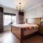 三居简约美式卧室设计