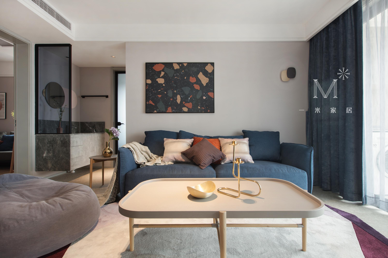 温馨90平北欧二居装修效果图卧室北欧极简卧室设计图片赏析