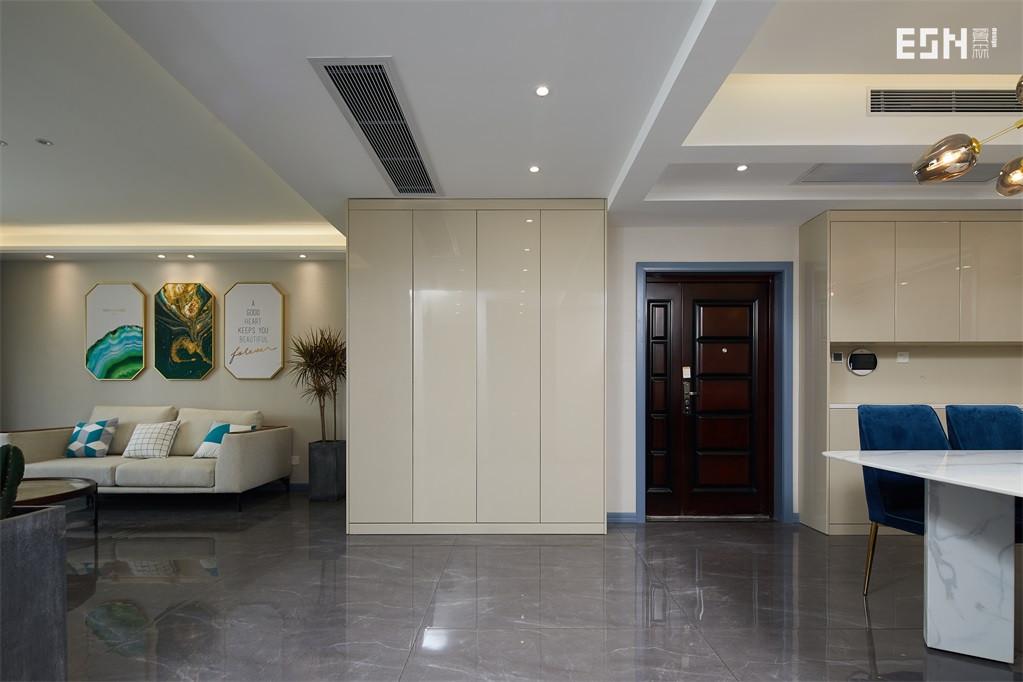 大气78平简约三居客厅设计案例客厅现代简约客厅设计图片赏析