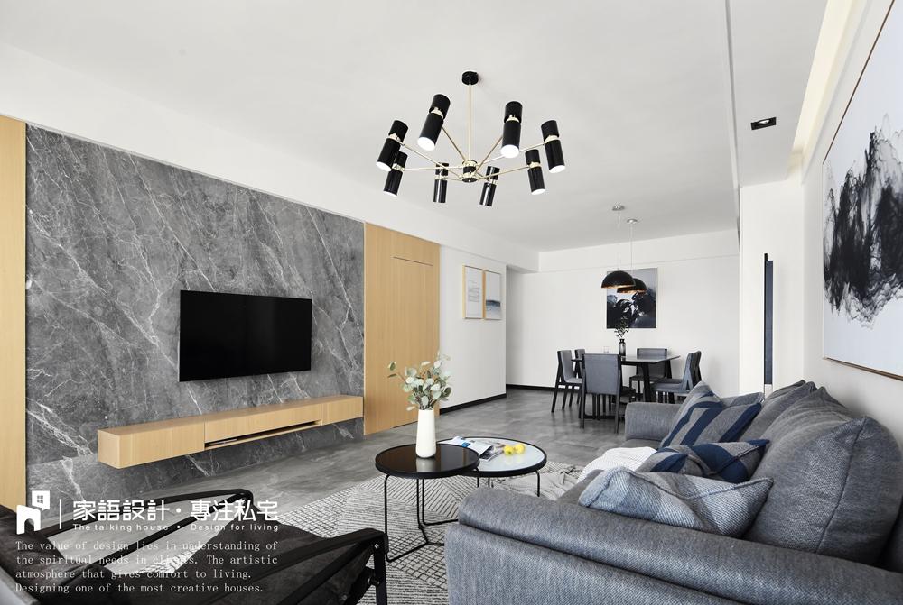 浪漫125平现代三居客厅案例图客厅现代简约客厅设计图片赏析