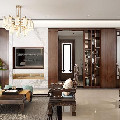 中式风格的居家空间