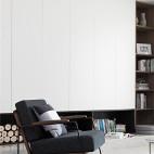 星海名城简约北欧客厅设计