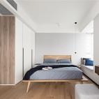 星海名城简约北欧卧室设计