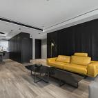 简洁宽阔的客厅设计