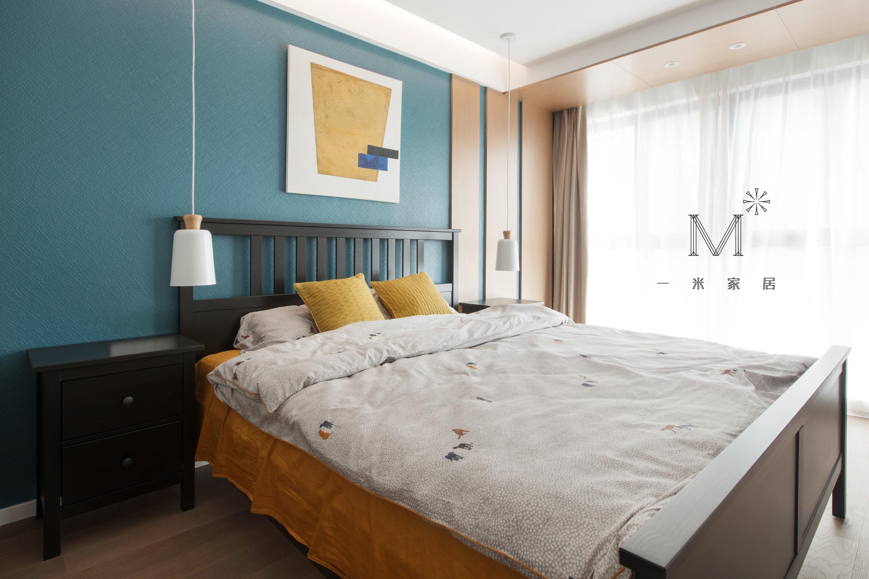 大气125平北欧二居图片大全卧室北欧极简卧室设计图片赏析