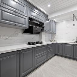 148m2现代美式厨房设计