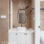 日式二居卫浴洗手台设计图