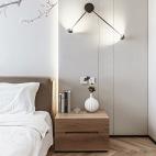 日式二居卧室壁灯设计