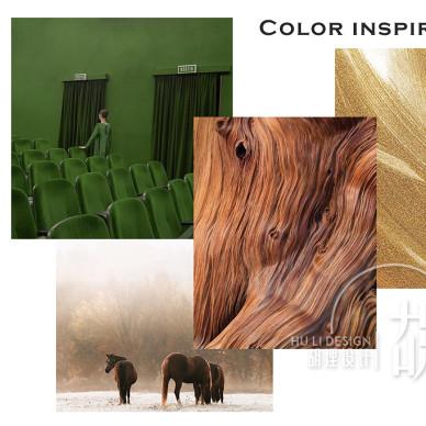 176平方简欧风格-彩色墙的多元运用_3435969