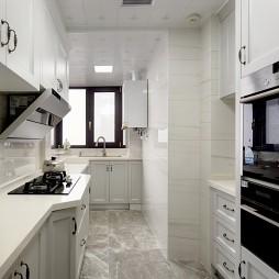 静谧美式厨房设计实景