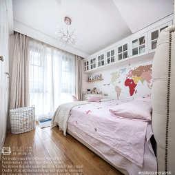 """""""粉""""高级的精装房儿童房设计"""