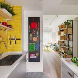 凯西特调之家现代厨房隔板设计