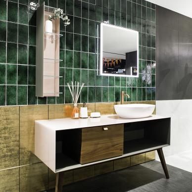Colourliving展厅洗手台设计