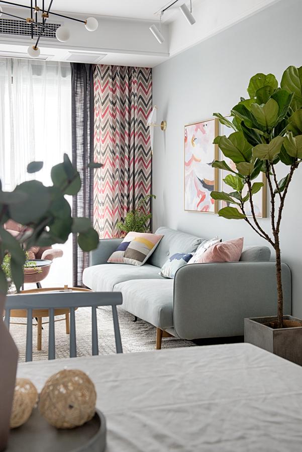 精致125平北欧三居客厅装饰美图客厅北欧极简客厅设计图片赏析