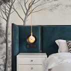 优雅中式卧室吊灯设计
