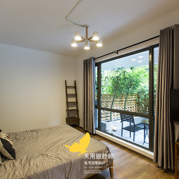 现代工业风卧室设计