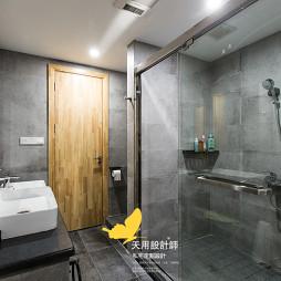现代工业风卫浴设计图