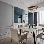 现代法式餐厅设计