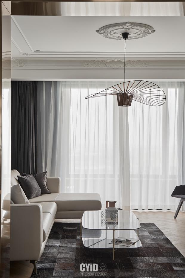 质朴21平混搭小户型客厅案例图客厅