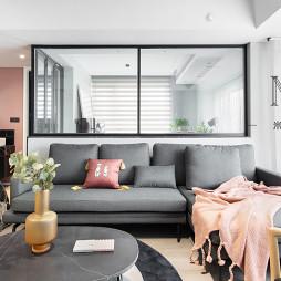 140m²现代北欧客厅设计