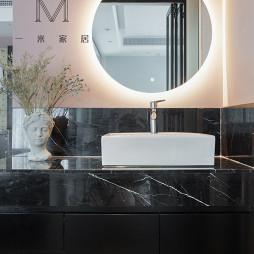 140m²现代北欧洗手台设计