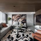 时尚个性现代客厅设计图
