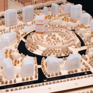 立木赢得上海智能医疗岛城市设计_3443040