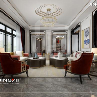 景逸效果图设计——家装古典中式作品_3444172
