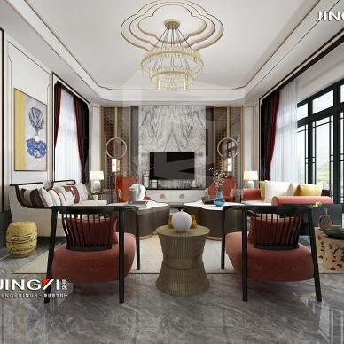 景逸效果图设计——家装古典中式作品_3444173
