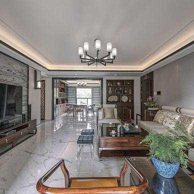 中式豪宅客廳設計