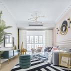 少女感法式客厅设计图