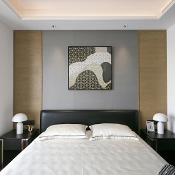 半岛城邦现代主卧室设计