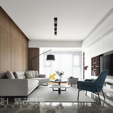 现代小户型客厅设计实景