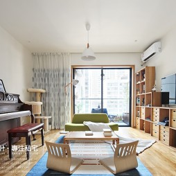 日式风格两居客厅设计