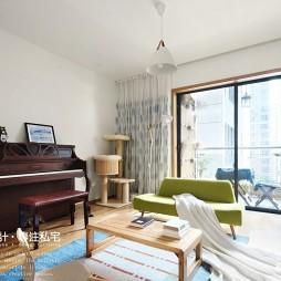 日式风格两居客厅设计图