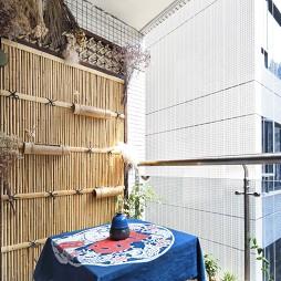 日式风格两居阳台设计
