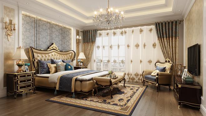 上饶别墅设计-欧式风格