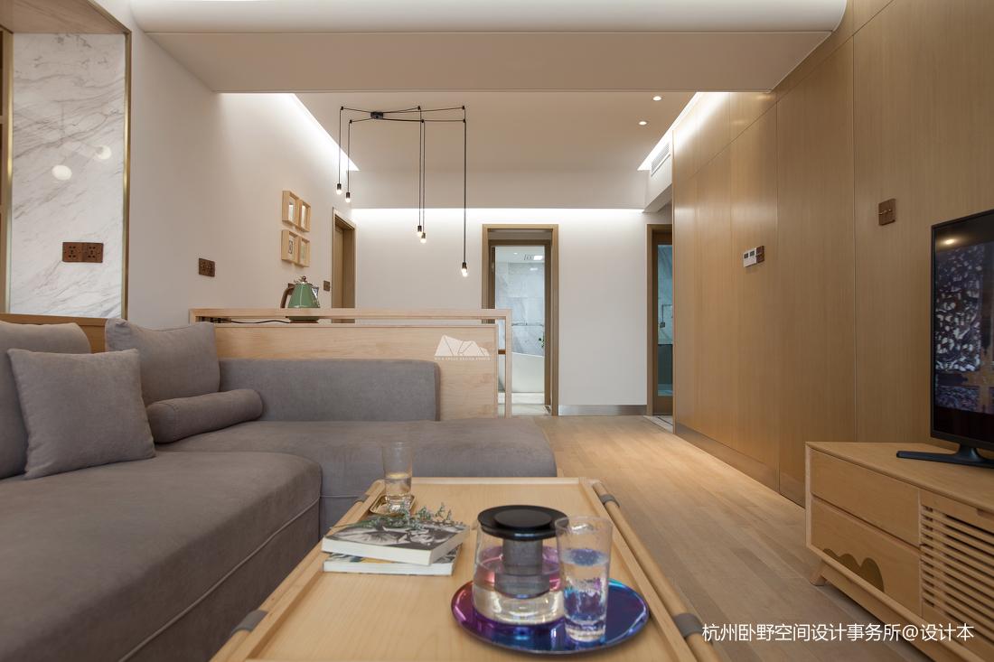 质朴130平简约四居客厅布置图客厅茶几现代简约客厅设计图片赏析