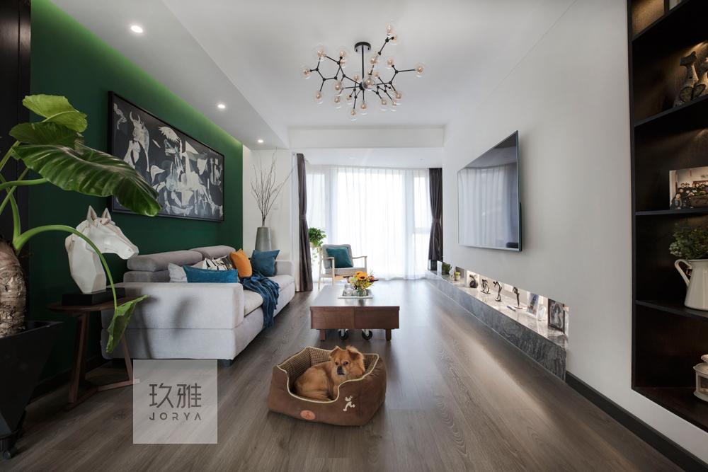 质朴120平简约四居客厅装修图客厅现代简约客厅设计图片赏析