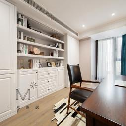 140m² 简美书房设计实景