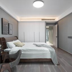 102㎡现代北欧卧室设计图片