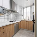 115㎡ 日式风格厨房设计