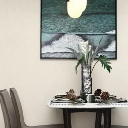 自然混搭风餐厅装饰画设计