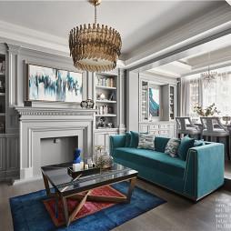 经典美式客厅设计图