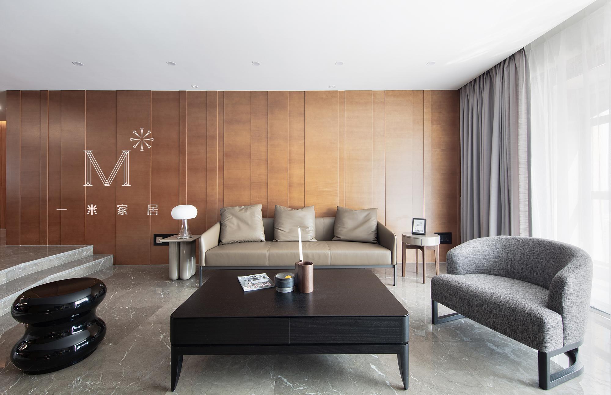 浪漫250平现代三居实拍图客厅现代简约客厅设计图片赏析