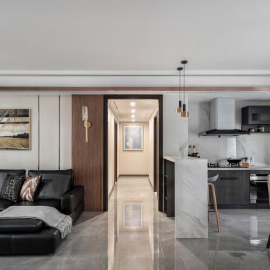 现代三室客厅设计
