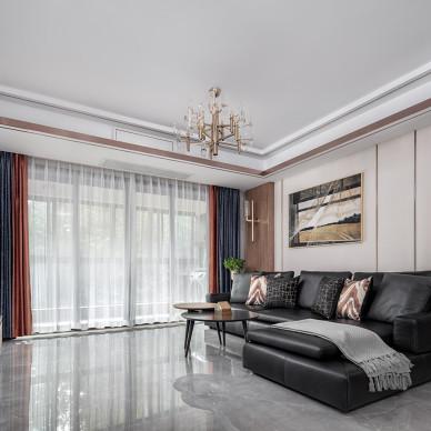现代三室客厅设计图片