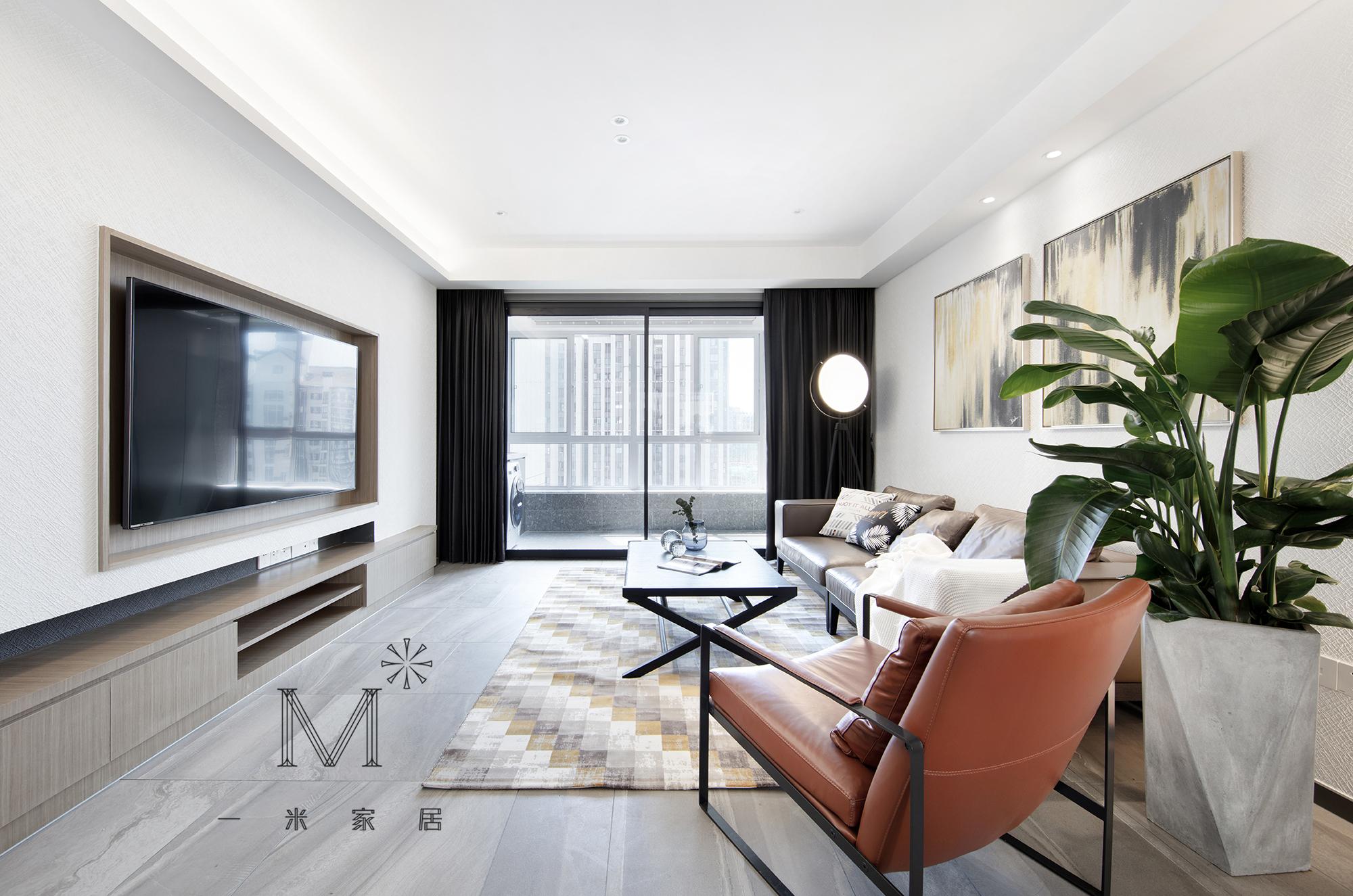 大气130平现代三居客厅装潢图客厅现代简约客厅设计图片赏析