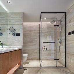 新中式素雅卫浴设计实景